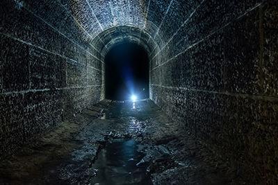 edinburgh creepy underground tunnel