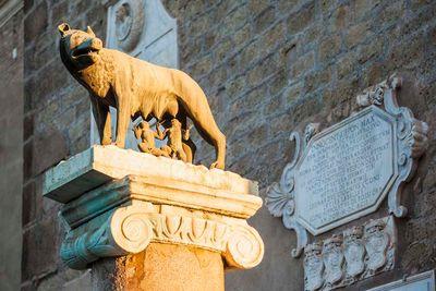 Rome Suckling Wolf