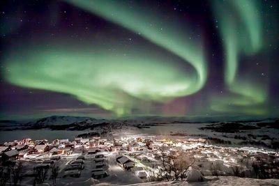 Northern Lights Swedish Lapland