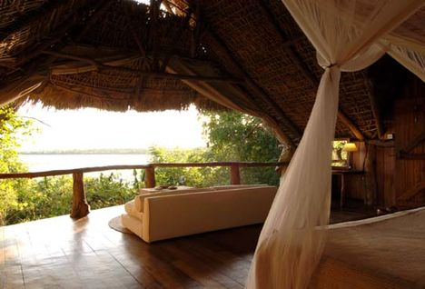 Standard bedroom at Sand Rivers Selous