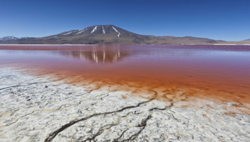 Orange Lagoon - Bolivia
