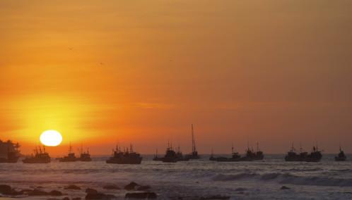 Sunset in Mancora - Peru