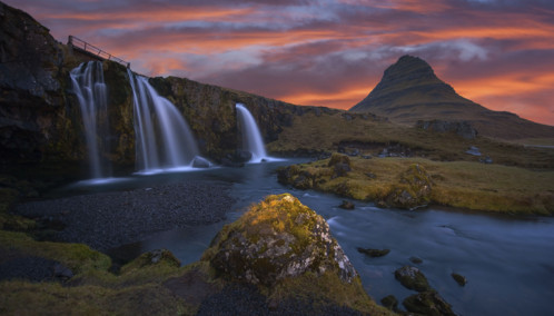 Snæfellsnes Peninsula Kirkjufell mountain