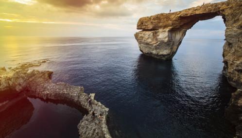 The Azure Window in Gozo