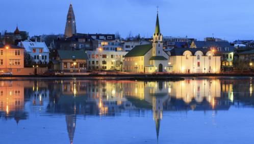 Reflection of Reykjavik