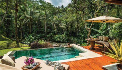 Four Seasons Ubud, Bali, Indonesia.