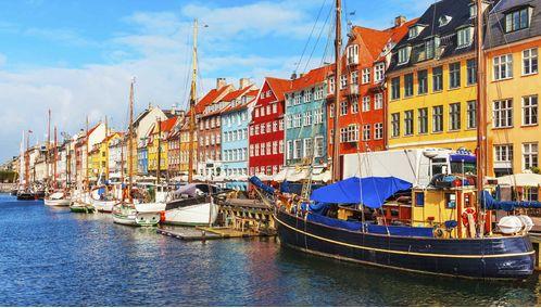 Nyhaven waterfront, Copenhagen