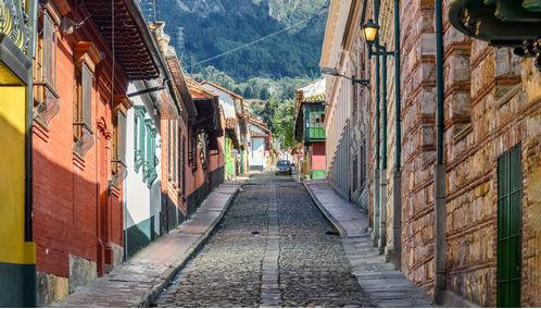 candelaria street bogota