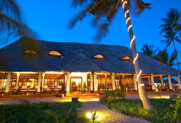 The Palms hotel, luxury hotel in Tanzania, Africa