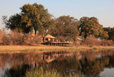 Zafara camp, luxury camp in Botswana