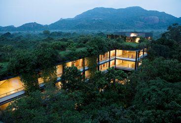 Kandalama, luxury hotel in Sri Lanka