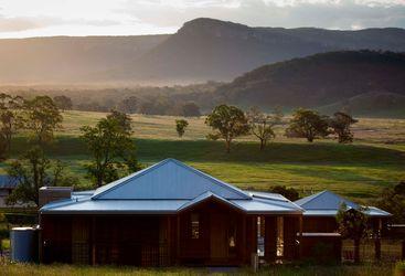 Wolgan Valley Lodge exterior