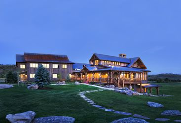 Brush Creek Ranch, luxury hotel in the Great American Wilderness