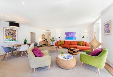 Two Bedroom Chiado Living Room,