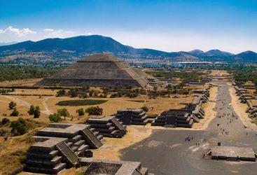 Teotihuacan Ruins