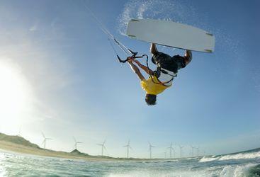 Kite Surfing, Brazil