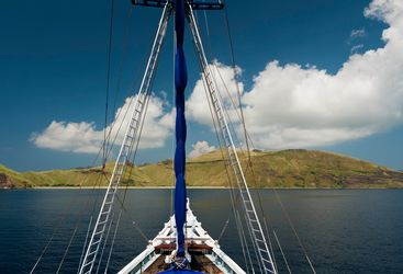 Sailing in Indonesia
