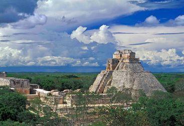 Uxmal Ruins, Mexico