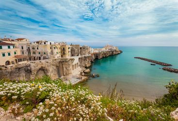 A view of the Ocean from Puglia