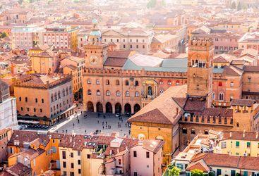 View across Bologna