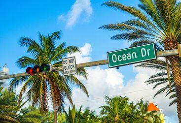 Ocean Drive Sign, Miami