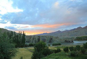 Indus House Sunset