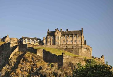 An image of Edinburgh Castle