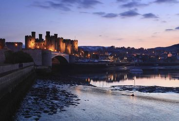 An image of Conwy Castle, Wales