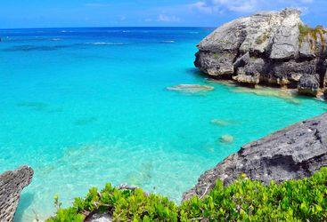 Rock formations Bermuda