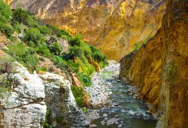 Colca Canyon River