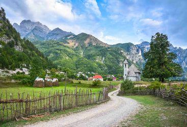 Albanian Village