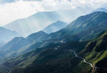 Winding Road Through Sapa