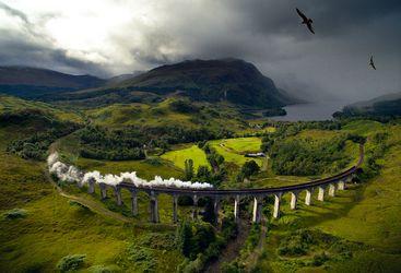 Hogwart's express - steam train