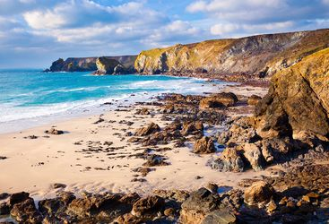 Pentreath Beach in Cornwall