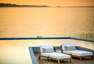 Romantic hotel in Greece