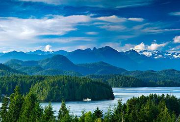 Luxury British Columbia landscape
