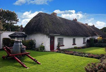 Traditional Irish cottage, Adare