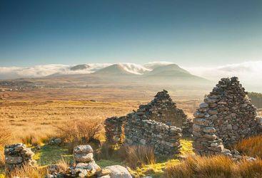 Connemara ruins