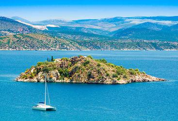 Peloponesse near Nafplion city