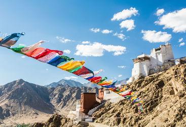 Prayer flags, Leh