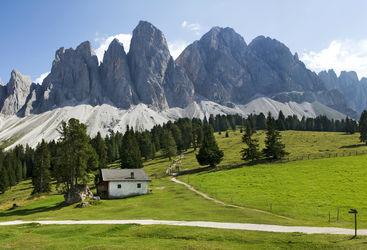 Panoramic view at Geisler Gruppe