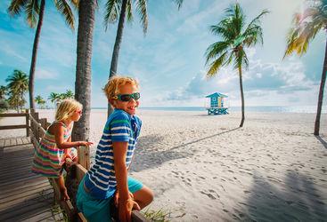 Family in Miami