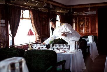 Venice Simplon Orient Express waiter