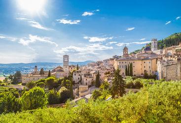 Assisi in Umbria