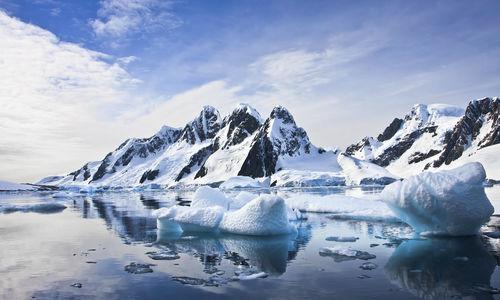 Antarctica Glaciers