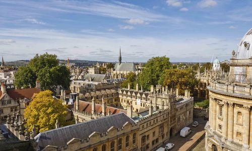 A cityscape of Oxford