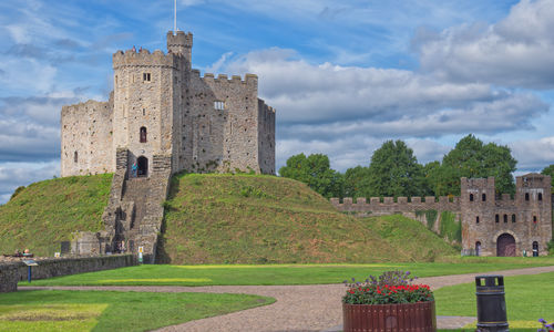 Pictured is Cardiff Castle