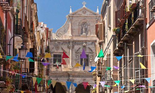 Street in Sardinia