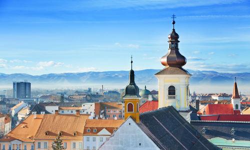 Old town in Sibiu