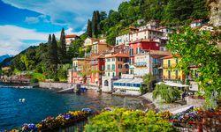 Italian lake village